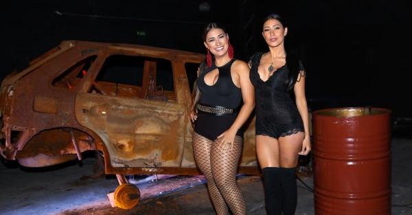 Simone e Simaria gravam clipe com Anitta em São Paulo