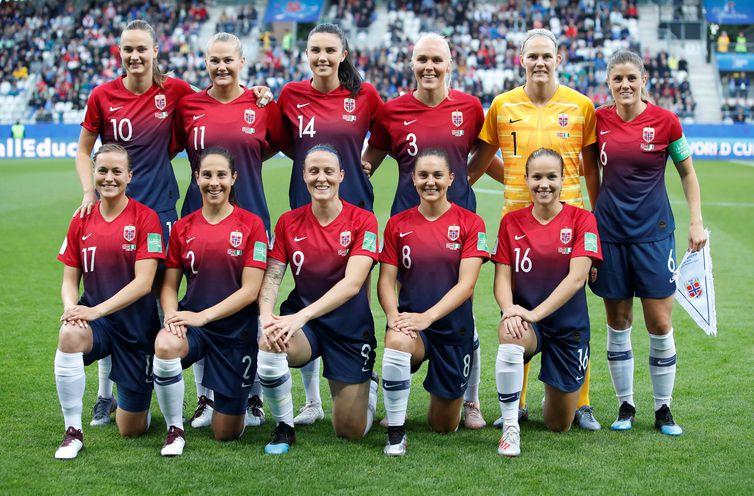 Noruega e Inglaterra jogam pelas quartas de final da Copa feminina
