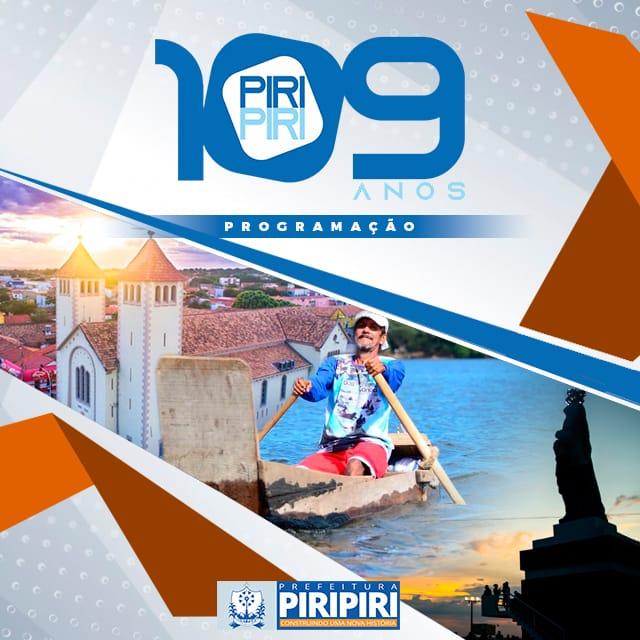 Parabéns Piripiri, 109 anos de emancipação