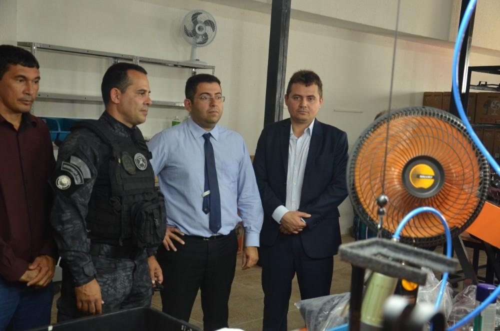 Secretaria de Justiça do Estado do Piauí participa de visita técnica do departamento Penitenciário Nacional no Estado do Ceará