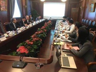 Empresa chinesa manifesta interesse no Porto de Luís Correia