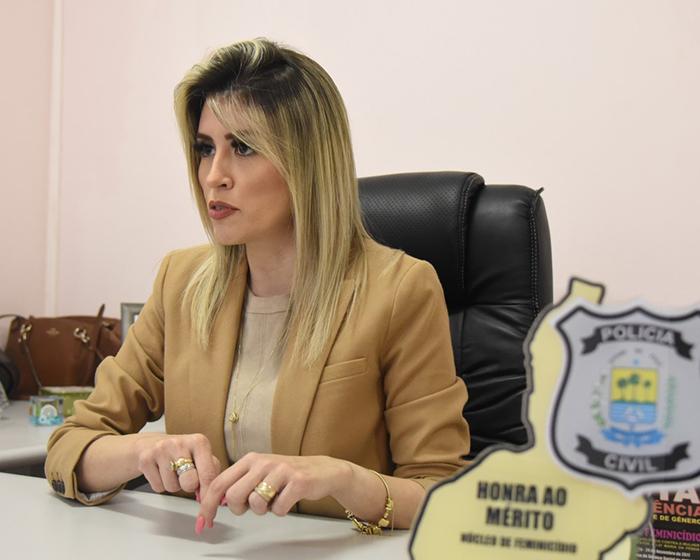 Delegada Anamelka Cadena, diretora de Gestão Interna da Secretaria de Segurança Pública do Piauí - Foto: O Dia