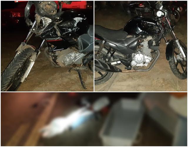 Em Santa Inês-MA - motociclista morre após colidir com a traseira de caminhão