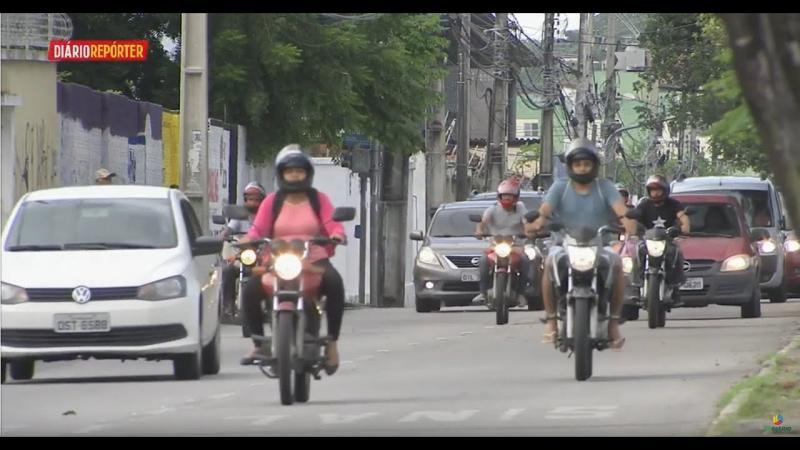 Diário Repórter - Acidentes de moto